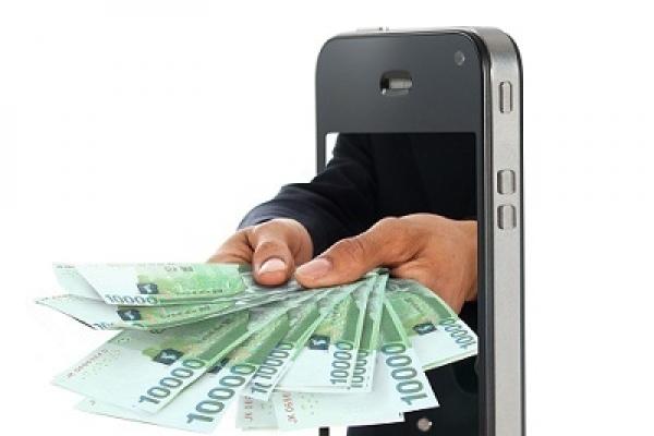 Tech firms expand mobile payment services offline