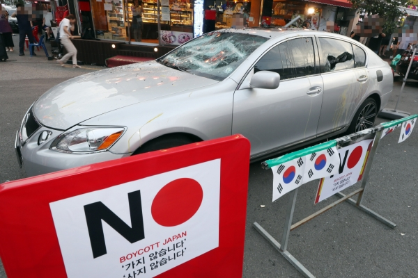Sales of Japanese imported vehicles dip in Korea amid trade feud