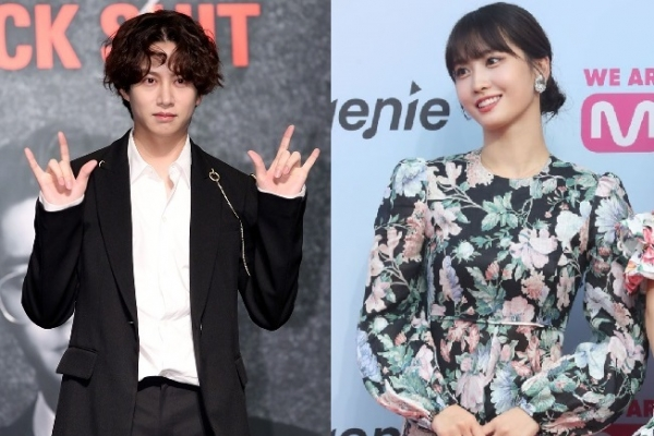 Kim Hee-chul, Twice's Momo deny dating reports