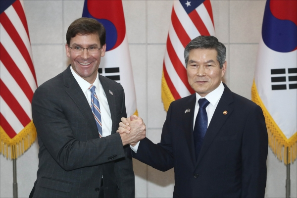 S. Korean, US defense chiefs vow to support diplomacy for NK denuclearization