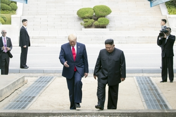 Trump: Kim Jong-un wants to resume nuclear talks after Seoul-Washington joint exercise