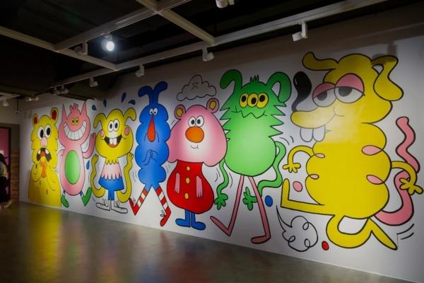'Superstar' Jon Burgerman brings back joy of doodling
