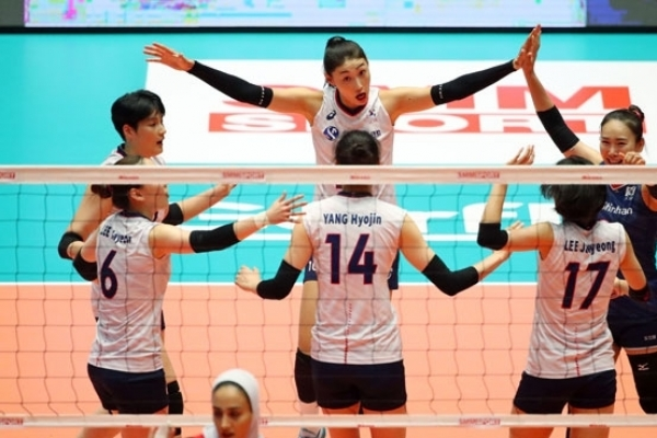 Korea clinches spot in women's volleyball Olympic qualifying tournament