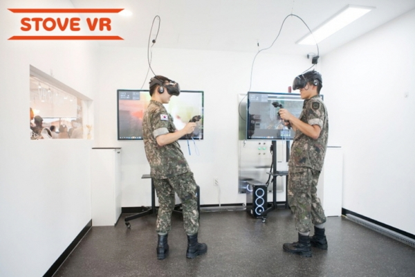 Smilegate Stove brings VR games to Korean Army