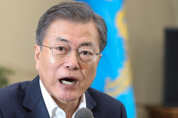 Moon administration's battle against fake news intensifies