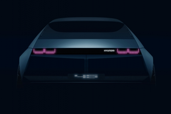Teaser image for Hyundai Motor's EV concept car 45 revealed
