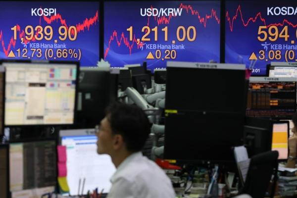 S. Korean stocks open lower on tech losses