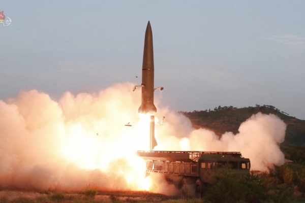 N. Korea fires unidentified projectiles into East Sea: JCS