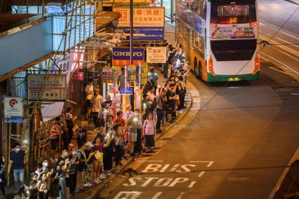 S. Korea issues travel warning for protest-hit Hong Kong
