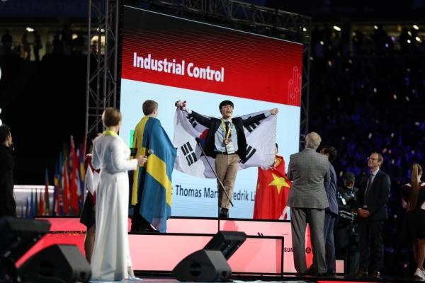 South Korea finishes 3rd at WorldSkills 2019