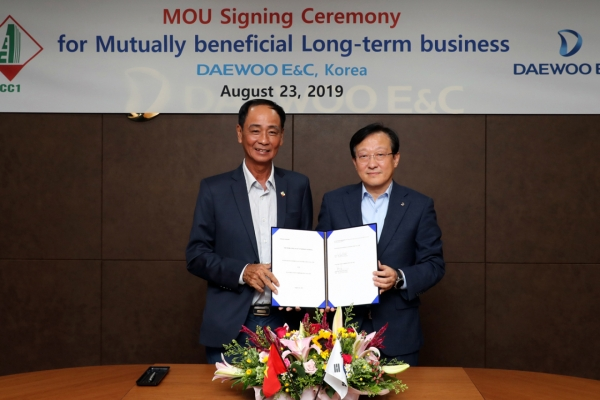 Daewoo E&C seeks new opportunities in Vietnam with CC1