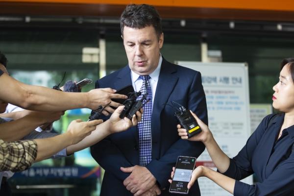 TV celebrity Holley gets suspended prison sentence in drug case