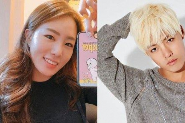 Famed skater Lee Sang-hwa, singer Kangnam to marry this year