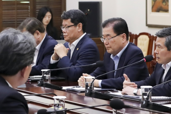 In NSC session, Cheong Wa Dae decides to seek early return of USFK bases