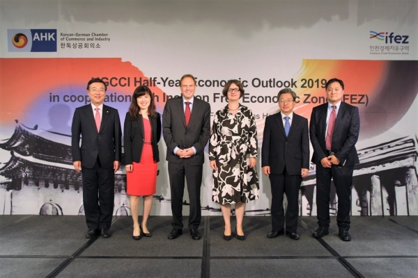 Half-Year Economic Outlook 2019 highlights trends affecting Korean-German trade