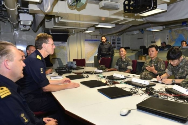 Navy holds int'l forum on maritime security cooperation