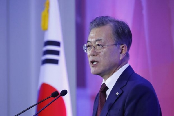 Moon asks for parliamentary confirmation hearing report on justice minister nominee