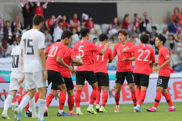 S. Korea held to draw by Georgia in tuneup for World Cup qualifying match