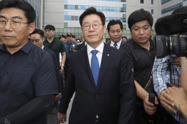 Gyeonggi governor found guilty in election law violation case