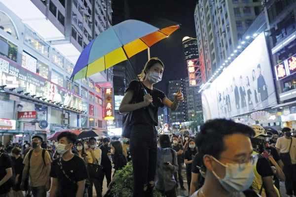 Hong Kong braces for airport protests after overnight unrest