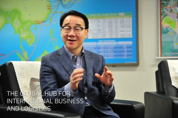 [Herald Interview] New Busan-Jinhae FEZ chief seeks paradigm shift