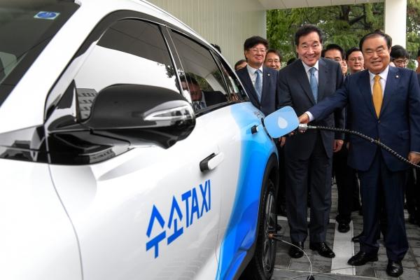 Assembly opens hydrogen-refilling station