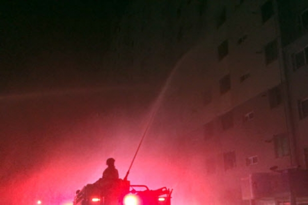 Married couple dead in apartment building fire in Gwangju: officials