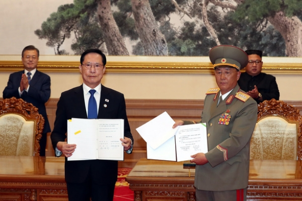 [News focus] One year on, inter-Korean military pact remains unfulfilled promise