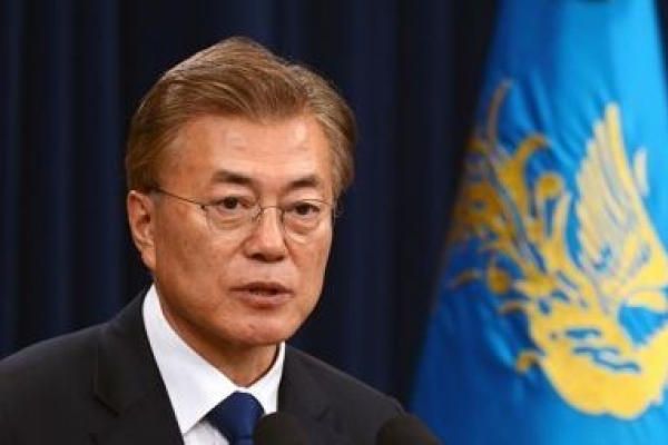 Moon declares support for int'l press freedom initiative