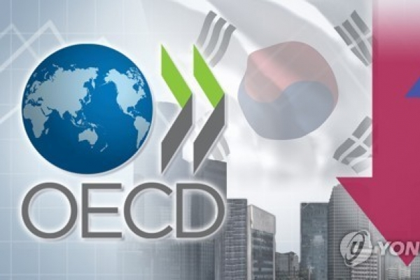 OECD cuts growth outlook for S. Korea to 2.1 percent