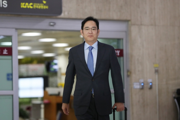 Samsung heir in Tokyo again at invitation of Japan's biz community