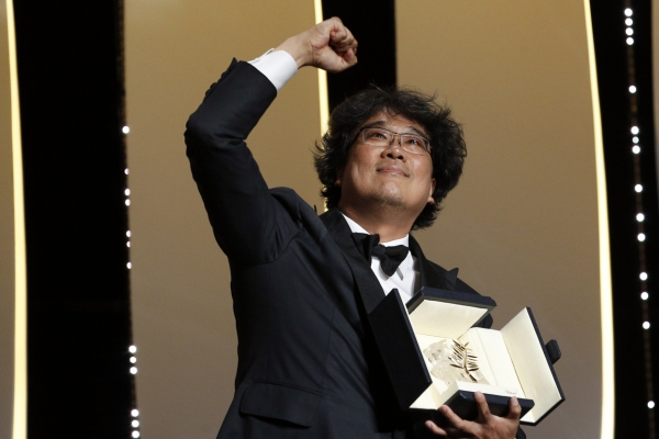 Korea's Oscar-tipped 'Parasite' sets French box office record