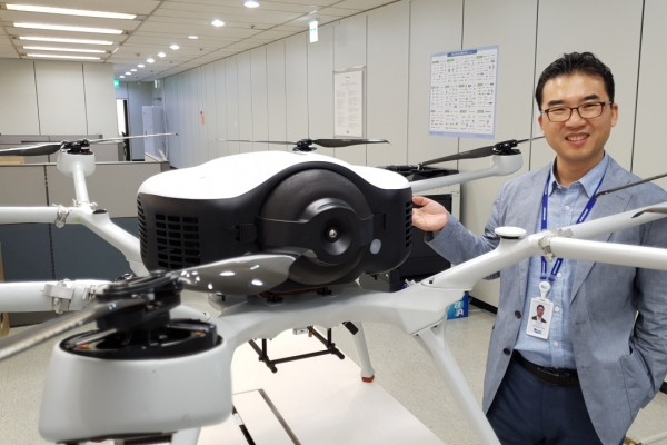 [Hydrogen Korea] Doosan's hydrogen drone pushes the limits