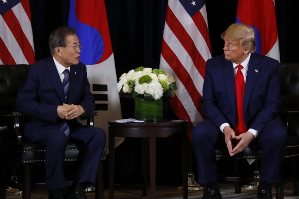 Trump touts relations with North Korea, plays down short-range missiles
