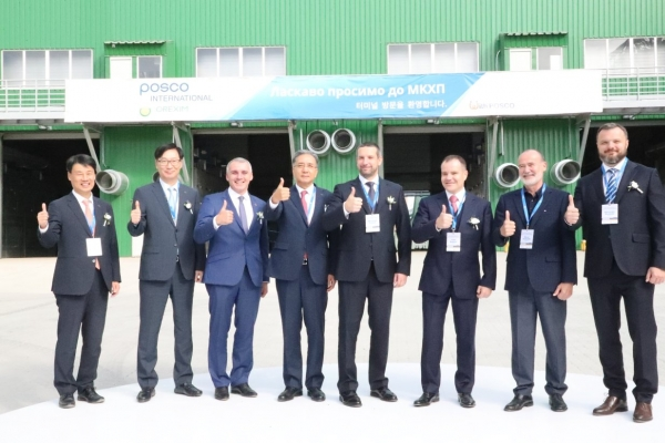 Posco International embarks on Ukraine grain export terminal