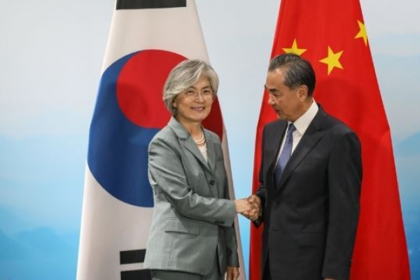 Foreign ministers of S. Korea, China agree to continue cooperation on NK
