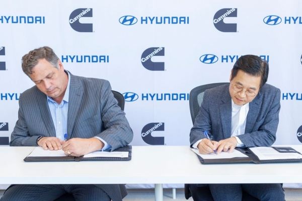 Hyundai Motor joins hands with Cummins for hydrogen fuel cell technology