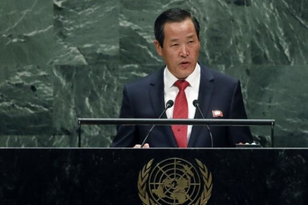 NK ambassador urges US to come to nuclear talks with new proposal