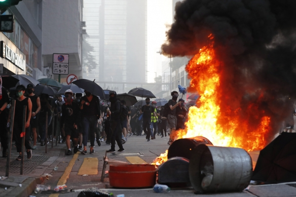 Hong Kong: nearly four months of rallies, clashes