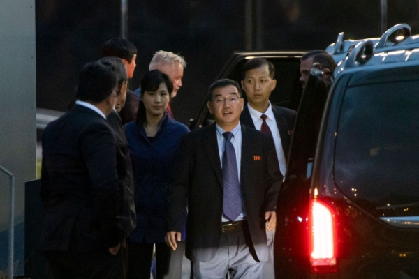 N. Korea's chief envoy arrives in Sweden for nuke talks with US