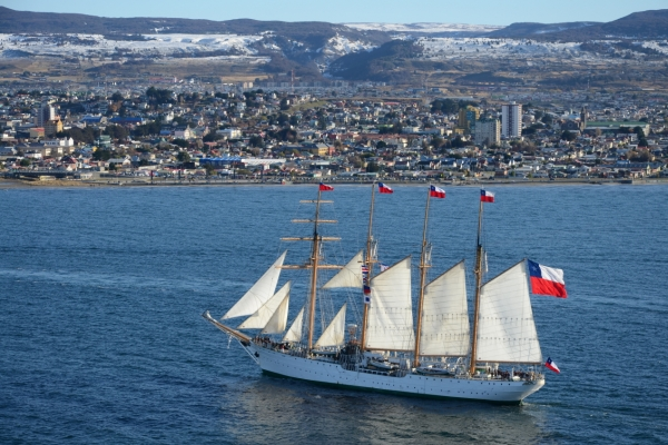 [Contribution] Chilean Navy's training ship Esmeralda visits Busan