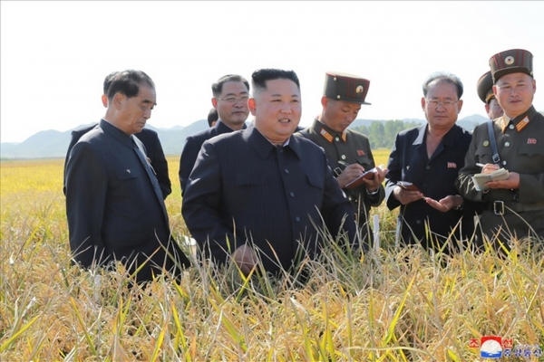 NK leader visits military farm in first public appearance since breakdown of nuclear talks