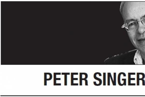[Peter Singer] Climate activist Greta Thunberg's moment
