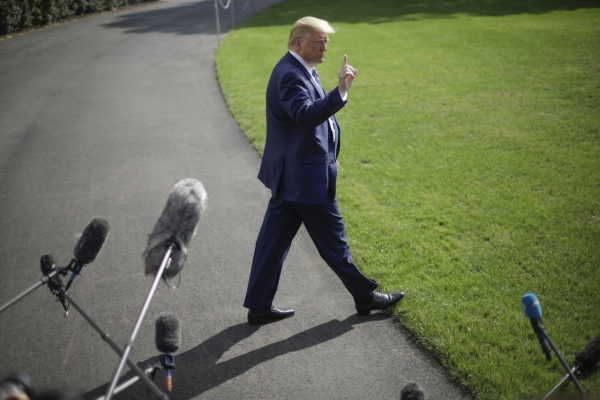 Trump suggests he has phone calls with NK leader