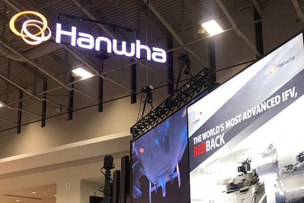 Hanwha showcases defense technologies at US' largest land power expo
