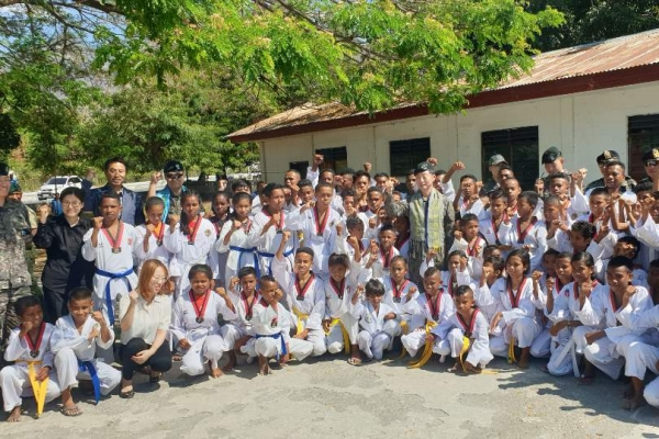 [Feature] Evergreen Unit remembered for peacemaking operations in East Timor 20 years ago