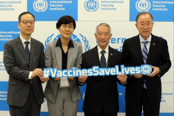 [Diplomatic circuit] IVI urges international cooperation on R&D, distribution of vaccines