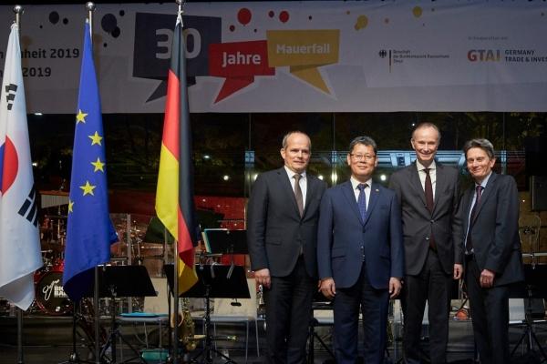 [Diplomatic circuit] German ambassador to Korea hopes for unity on Korean Peninsula