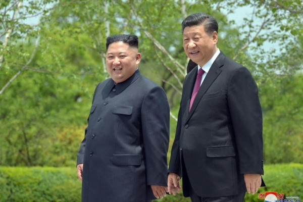 Top military officials of N. Korea, China highlight bilateral ties