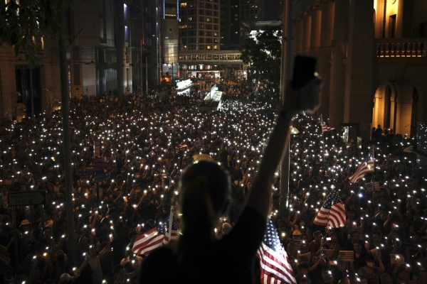 US House passes Hong Kong 'Democracy Act'